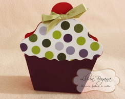 Caixinha Cherry Cupcake