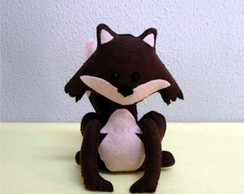 Raposa Em Feltro - Kit Pequeno Pr�ncipe