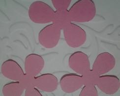 Aplique Flor 5 Petalas (30 unids.)