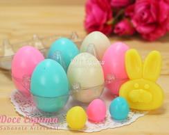 Caixa Com Ovos coloridos