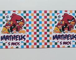 R�tulo Lata De Leite 400g Angry Birds