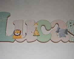 Lucas Safari Baby Porta de Maternidade