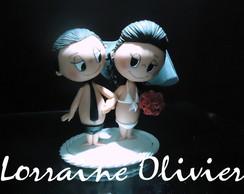 Noivinhos Infantil - Estilo Love Is...