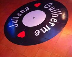 Adesivo  Pista de Dan�a - Disco (80x80cm