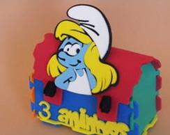 Lembrancinha tema Smurfs