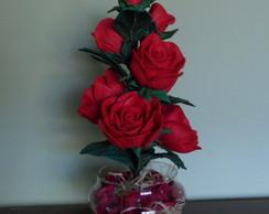 Arranjo de Flores - Rosas Vermelhas