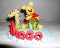 Topo de bolo tema Pooh
