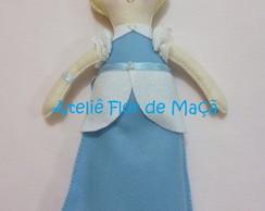 Boneca em feltro - Cinderela