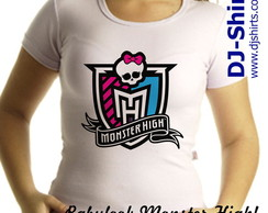 Camiseta e Babylook Monster High