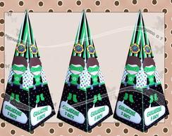 Cone Personalizado Lanterna Verde