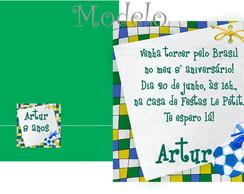 Convite Copa No Brasil