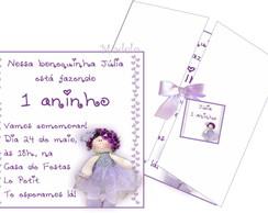 Convite Boneca