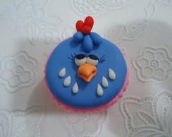 Galinha Pintadinha/ cupcake, biscuit