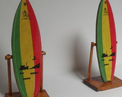Mini Prancha De Surf  Reggae Decorativa