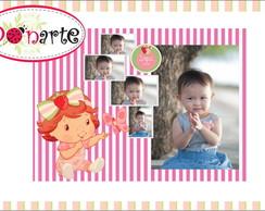 Banner Personalizado Moranguinho Baby