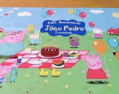 Peppa Pig Painel Impresso Placa Diversos