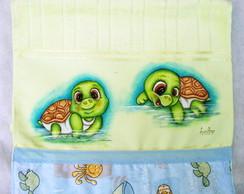 Toalha De Lavabo Tartarugas