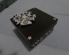 Caixa Marrom e Rosa 11x11