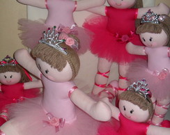 Bailarinas princesas (kit c/ 6 pe�as)
