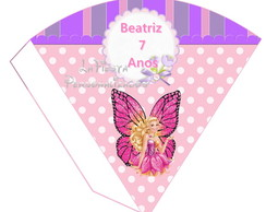 Cone  Redondo Barbie Butterfly
