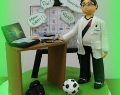 Topo de bolo - Dr Pancr�cio