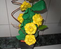 Arranjo de Flores em e.v.a.