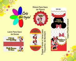 Kit Digital Personalizado Minnie