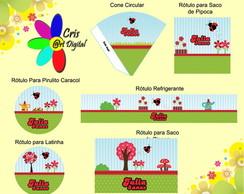 Kit Digital Personalizado Joaninha