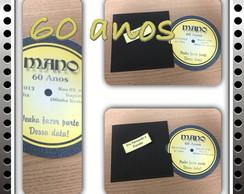 Convites anos 60 formato CD
