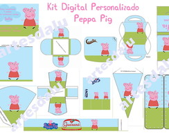 Kit Digital Personalizado Peppa Pig