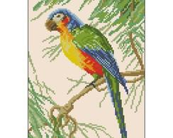 Ponto Cruz em PDF - Papagaio