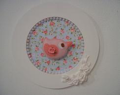 (MA 0169) Quadro flowers and birds