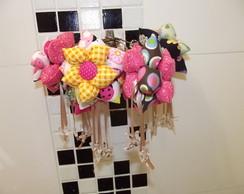 chaveiro flor ou enfeite