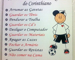 """Os 10 Mandamentos do Corinthiano"""