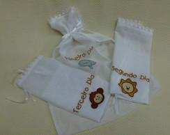 Kit roupinhas para maternidade - em voal