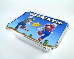 Marmitinha Personalizada Mario Bros