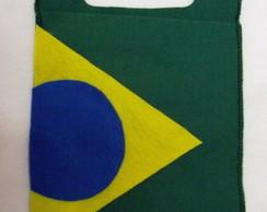Lixinho para carro Tema Brasil