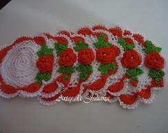 Toalhinhas De Croch� lavanda