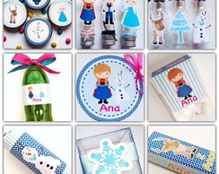 Kit Festa Completo - Frozen