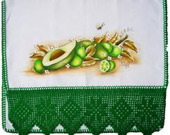 Pano de Prato com Abacates e Lim�es