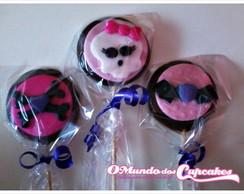 Pirulitos De Chocolate Monster High