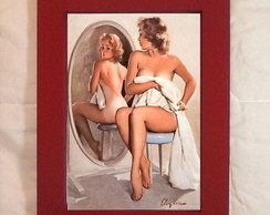 Quadro Pin Up