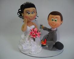 Noivo pedindo em casamento