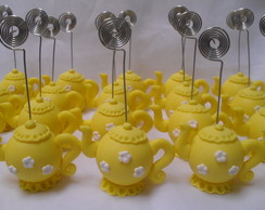 Lembran�a Bule amarelo com espiral