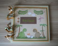 Caderno de Mensagens Dinossauros