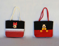 Eco bag para doces Mickey/Minnie