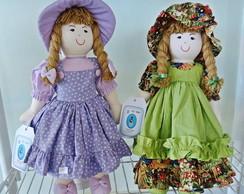 Bonecas de Pano 45 cm