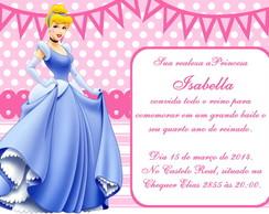 Convite Digital Cinderela