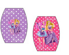 R�tulo Esmalte Barbie e Pop Star