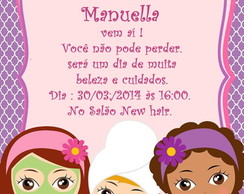 Convite Digital SPA PARTY